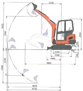 Kubota-KX019-4-minigraver-diagram-Hertz-Maskinutleie_1000